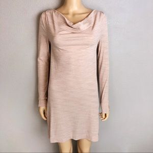 Anthropologie Pure + Good Tunic Dress Cowl Neck